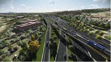 Artist's impression of the extended Darlington upgrade